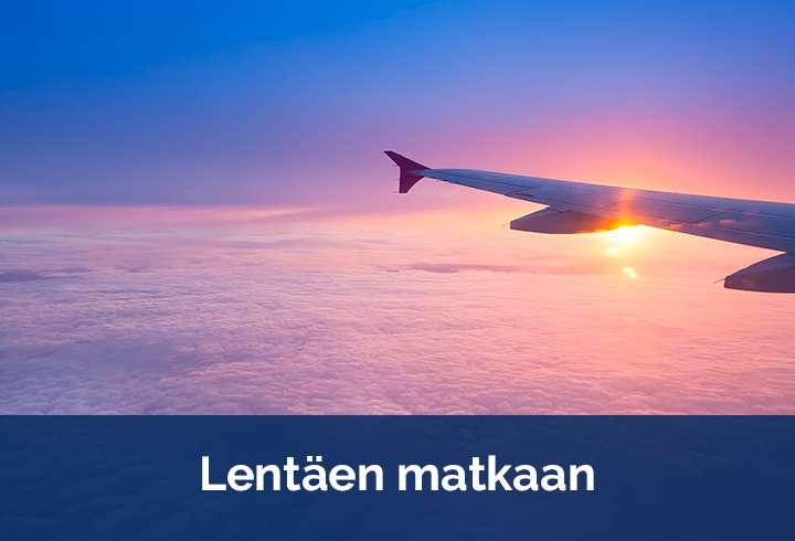 Lentäen matkaan