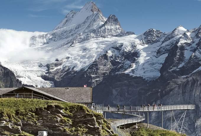 Sveitsin Kiertomatka Patikkamatka Sveitsin Alpeille Matkapojat