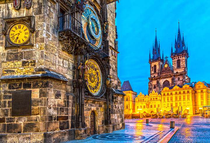 Praha Ja Tsekin Luonnonihmeet Matkapojat